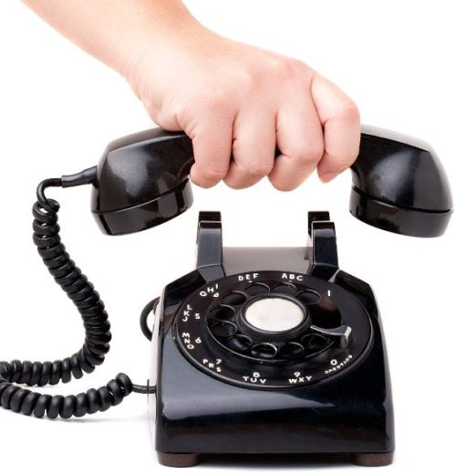 The Three Laws of Cold Calling